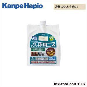 カンペハピオ 水性ウレタン床用ニス 3分つやとうめい  3L