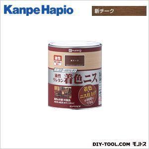 カンペハピオ 油性ウレタン着色ニス 新チーク 1.6L