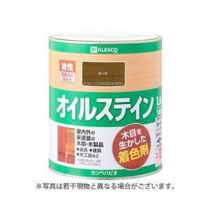 カンペハピオ オイルステインA木目を生かした着色剤 オーク 1.6L