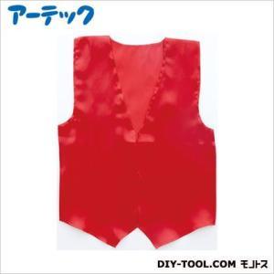 アーテック 衣装ベース サテンベスト 大 赤  2083|diy-tool