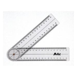 アーテック ゴニオメーター(プラスチック角度計) 9724