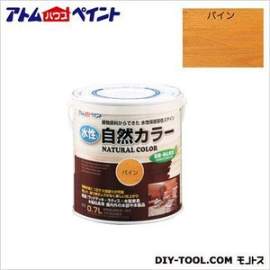 アトムハウスペイント 水性自然カラー 天然油脂ステイン 自然塗料 パイン 200ML