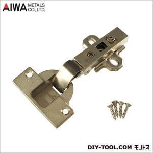 アイワ金属/AIWA ヘティヒスライド蝶番 丁番 ワンタッチ 全かぶせ キャッチ付 40mm  AP-1047N