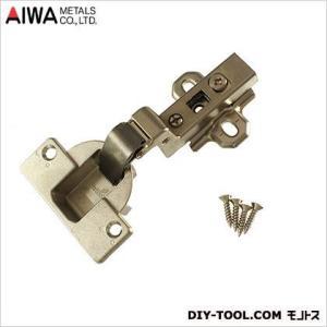 アイワ金属(AIWA) ヘティヒスライド蝶番(丁番)ワンタッチインセットキャッチ付 40mm AP-1049N|diy-tool