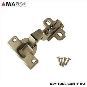アイワ金属(AIWA) ヘティヒスライド蝶番(丁番)インセットキャッチ付 35mm AP-1056C|diy-tool
