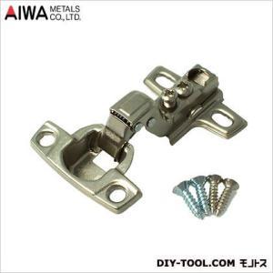 アイワ金属(AIWA) ヘティヒスライド蝶番(丁番) インセット キャッチ付 26mm AP-1029N|diy-tool