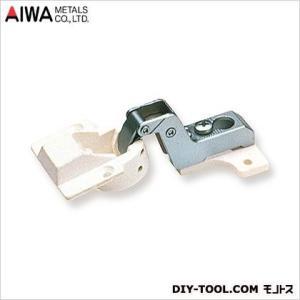 アイワ金属(AIWA) スライド蝶番(丁番)インセットキャッチ付 26mm AP-1025W|diy-tool