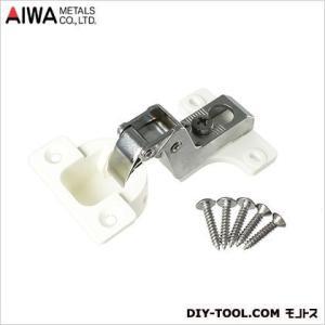 アイワ金属(AIWA) スライド蝶番(丁番)インセットキャッチ無 26mm AP-1026W|diy-tool