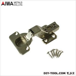 アイワ金属(AIWA) スライド蝶番(丁番)インセットキャッチ付 35mm AP-1035C|diy-tool