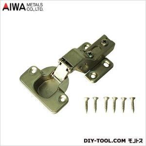 アイワ金属(AIWA) スライド蝶番(丁番)インセットキャッチ無 35mm AP-1036C|diy-tool