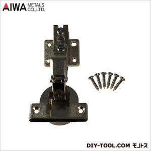 アイワ金属(AIWA) スライド蝶番(丁番)インセットキャッチ無 40mm AP-1046N|diy-tool
