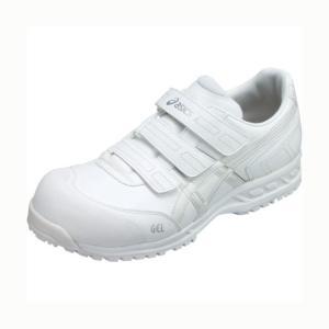 アシックス 作業用靴ウィンジョブ52S 0101ホワイト×ホワイト 22.5cm FIS52S.01...
