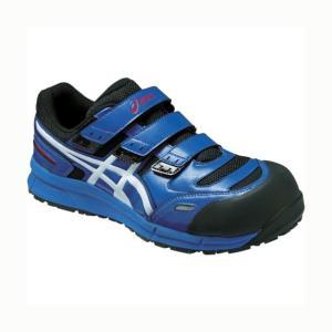アシックス ウィンジョブ CP102 作業用靴 青 24cm FCP102.4201 24.0 1|diy-tool