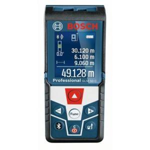 ボッシュ データ転送レーザー距離計  ●サイズ(mm):(H)111×(W)51×(D)30 GLM50C|diy-tool