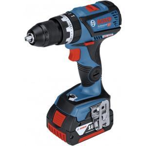ボッシュ 18Vコードレス振動ドライバードリル 248x184mm GSB18V-60C 電動工具