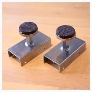 DIY FACTORY オリジナル 2×4材用 柱が立てられる突っ張り金具セット 2組入