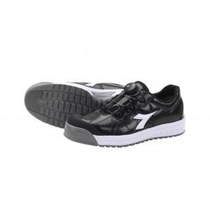 DIADORA ディアドラ 安全作業靴 フィンチ FC-212 限定色 ブラック/ホワイト/ブラック Boaコラボモデルの商品画像|ナビ