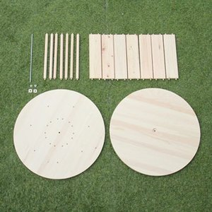 DIY FACTORY 組立て簡単!木製ドラムキット(テーブル向けサイズ) 直径:600mm 高さ:370mm|diy-tool|02