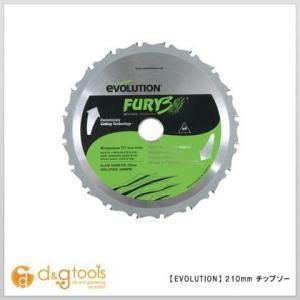 エボリューション フューリー3(FURY3)用替刃 スライド丸ノコチップソー  210mm 210TCT
