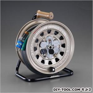 エスコ(esco) AC125V/15A/30mコードリール(接地付) EA815BD-30A|diy-tool