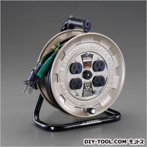 エスコ(esco) AC125V/15A/10mコードリール(接地付) EA815BK-10EA|diy-tool