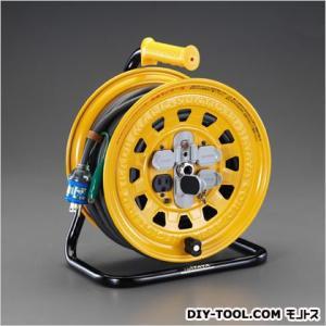 エスコ(esco) AC125V/15A/30mコードリール(漏電遮断器付) EA815D-30A|diy-tool