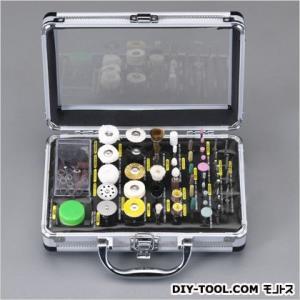 エスコ(esco) 砥石・ブラシ・バフセット 2.35mm軸 EA819-19 100本組|diy-tool