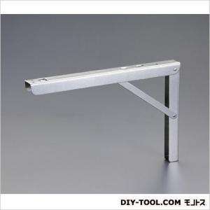 エスコ(esco) 折りたたみ棚受(ステンレス製) A406×B273mm EA951ED-27|diy-tool