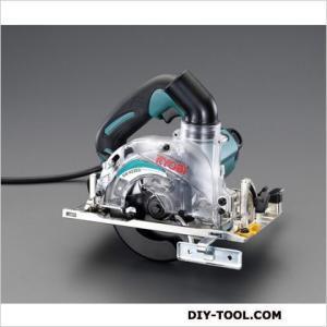 エスコ(esco) 125mm電動丸鋸(集じん付) 243×213×169mm(ハンドルから定盤までの高さ) EA851AE-1A|diy-tool