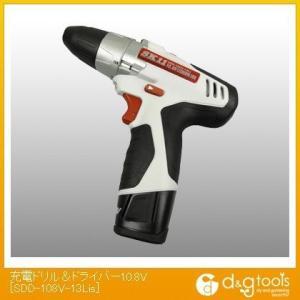 SK11 充電ドリル&ドライバー10.8V   SDD-108V-13Lis|diy-tool