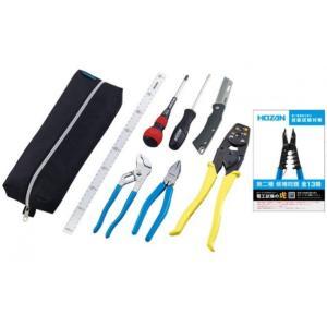 ホーザン(HOZAN) 【2021年度】電気工事士技能試験工具セット 300X100X50mm DK-29 diy-tool