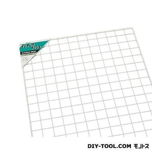 光 スチールメッシュパネル 白 900×600mm PJ967-2  0|diy-tool