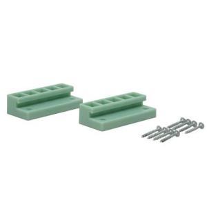LABRICO(ラブリコ) 2×4材用ジョイント ヴィンテージグリーン DXV-4 1セット|diy-tool