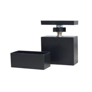 LABRICO(ラブリコ) 2×4材用アジャスター マットブラック DXK-1 1個|diy-tool