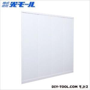 光モール 腰壁PURAPAN ホワイト 全長最大:高さ895X幅895X厚さ7(mm) 7229900|diy-tool
