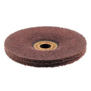 繊維のパワーでキズを取ります。ナイロン繊維を固めた新しい研磨材です。金属のキズやバリがきれいに安全に...