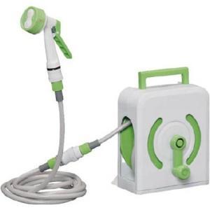 ●水でもお湯でも使えるお風呂のシャワー専用延長ホースリールです。 ●ご家庭のシャワーヘッドを外し、付...