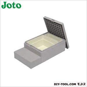 JOTO ハウスステップ収納庫付 ライトグレー 600×1100×350(175)mm CUB-8060S diy-tool