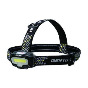 GENTOS GENTOS デュアルカラーCOB LEDヘッドライト 60 x 125 x 205 mm CB-443D 1個|diy-tool