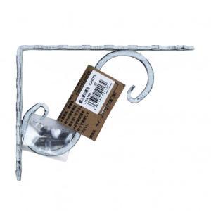ケイジーワイ工業 鍛冶屋の棚受 白 15x11.5cm|diy-tool
