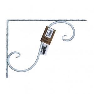 ケイジーワイ工業 鍛冶屋の棚受 白 27.5x20cm|diy-tool