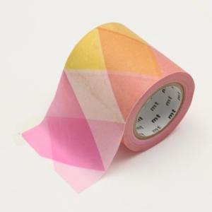 サイズ:50mm×10m カラー:三角とダイヤ・ ピンク 原産国日本