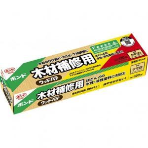 コニシ ボンド 木材補修用 ウッドパテ タモ白 120ml #25621