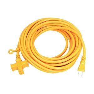 宏和工業 ソフトタイプ延長コード 黄色 10m  KM02-10 キイロ|diy-tool