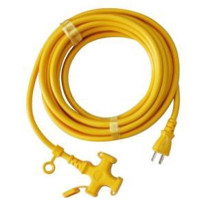 宏和工業 延長コード   15A×5m  KM109-5キイロ|diy-tool