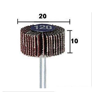 プロクソン/proxxon ミニルーター用アクセサリーフラップホイールペーパー1個ミニルーター用先端ビット 28986|diy-tool