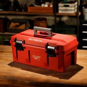 Kumimoku 道具が錆びにくい工具箱 RED KM-RD 1 diy-tool