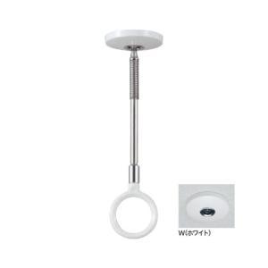 川口技研 室内用ホスクリーンスポット型 薄型スタイリッシュ ホワイト 220mm SPCSS-W|diy-tool