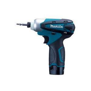 マキタ/makita JPA充電式インパクトドライバ(バッテリー2個&充電器付き) 青 TD090DWX|diy-tool
