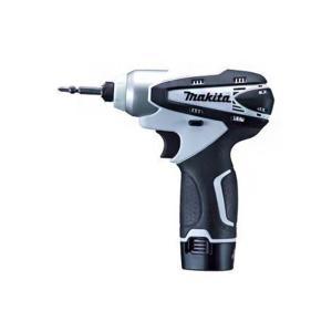 マキタ/makita JPA充電式インパクトドライバ(バッテリー2個&充電器付き) 白 TD090DWXW|diy-tool